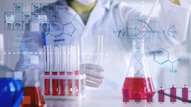 Medizinisches Forschungslaborkonzept