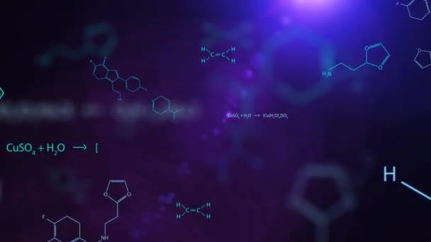 Chemie Formeln Hintergrund Full HD