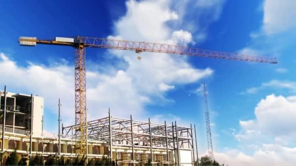 Construction Site Background Sky