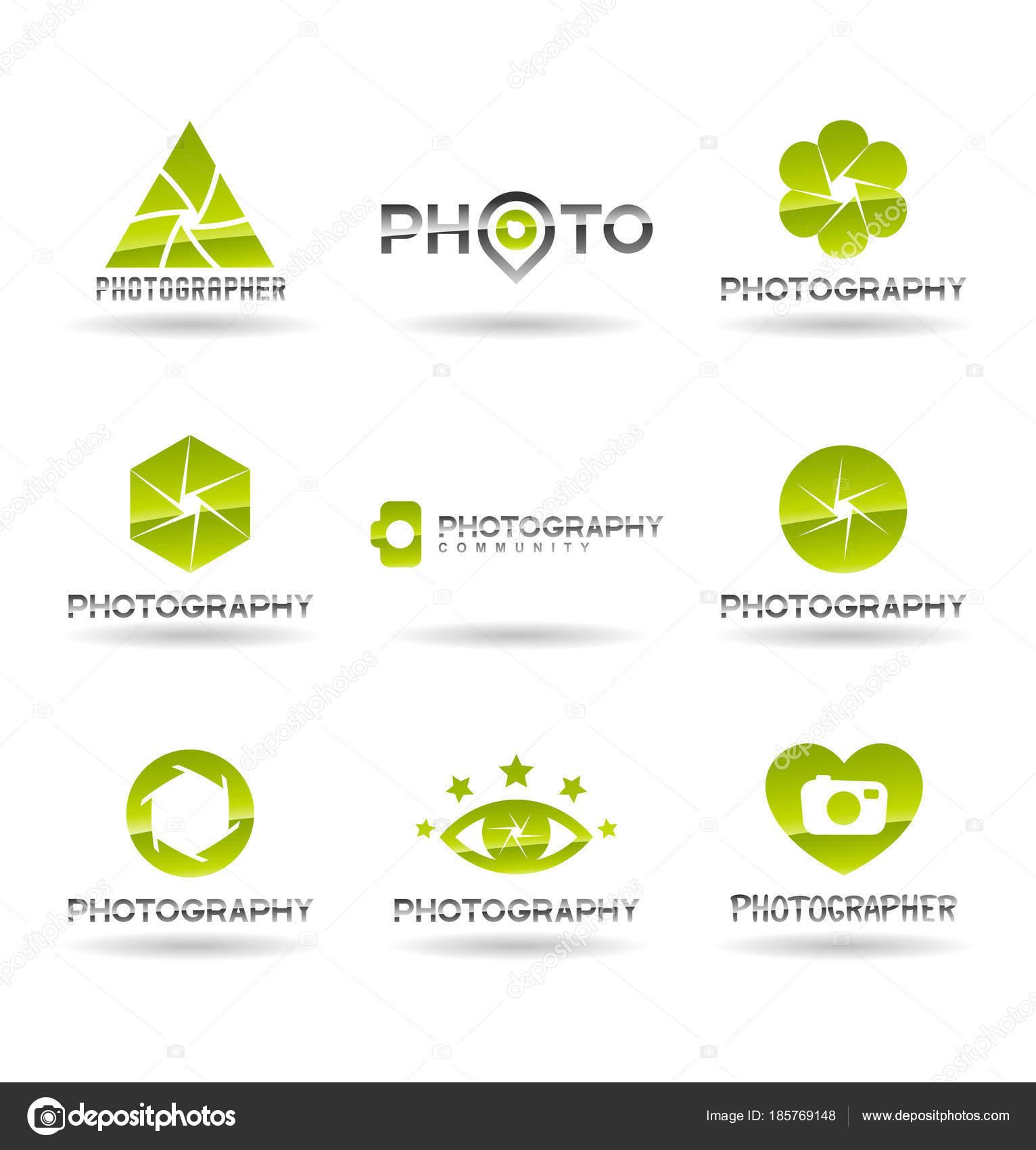 Fotograf Logo Design Fotografie Und Foto Kamera Symbol Membran ...