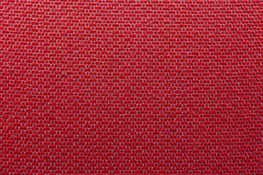 Red fabric, fabric texture. Background