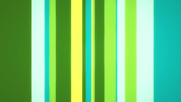 Multi-barevné pruhy nebo pruhy s velmi čerstvé žluté, zelené a modré barevné odstíny