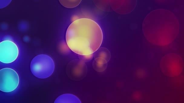 moodi ist ein süßer, animierter Hintergrund, der sich langsam bewegende und verblassende farbige Punkte zeigt. groß für Projektion.