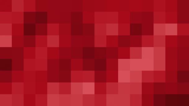 červená mozaika pozadí zblízka