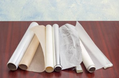 Packaging and cooking materials for household use