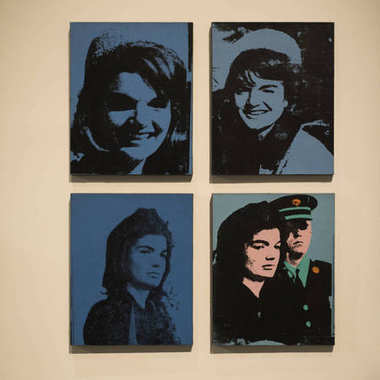 Paintings of Jacqueline Kennedy the First Lady by Andy Warhol, I