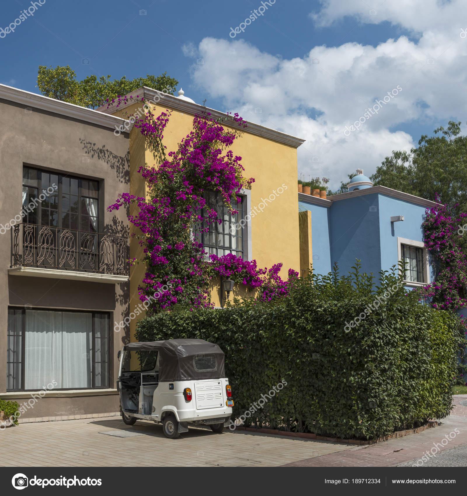 Fachadas Casas Zona Centro San Miguel Allende Guanajuato México