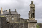 Photo Statue of Robert the Bruce at Stirling Castle, Stirling, Scotland