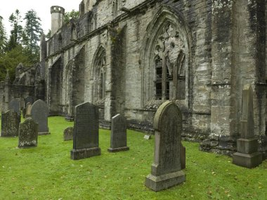 Churchyard of the Dunkeld Cathedral, Dunkeld, Perth and Kinross, Scotland