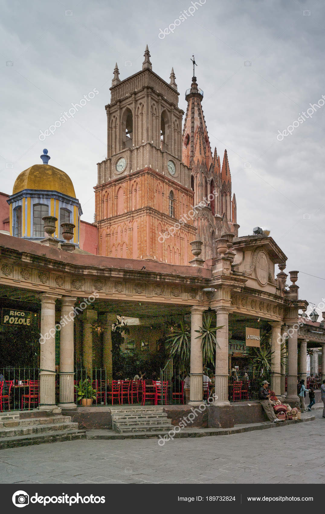 View Parish Church Parroquia San Miguel Allende Guanajuato