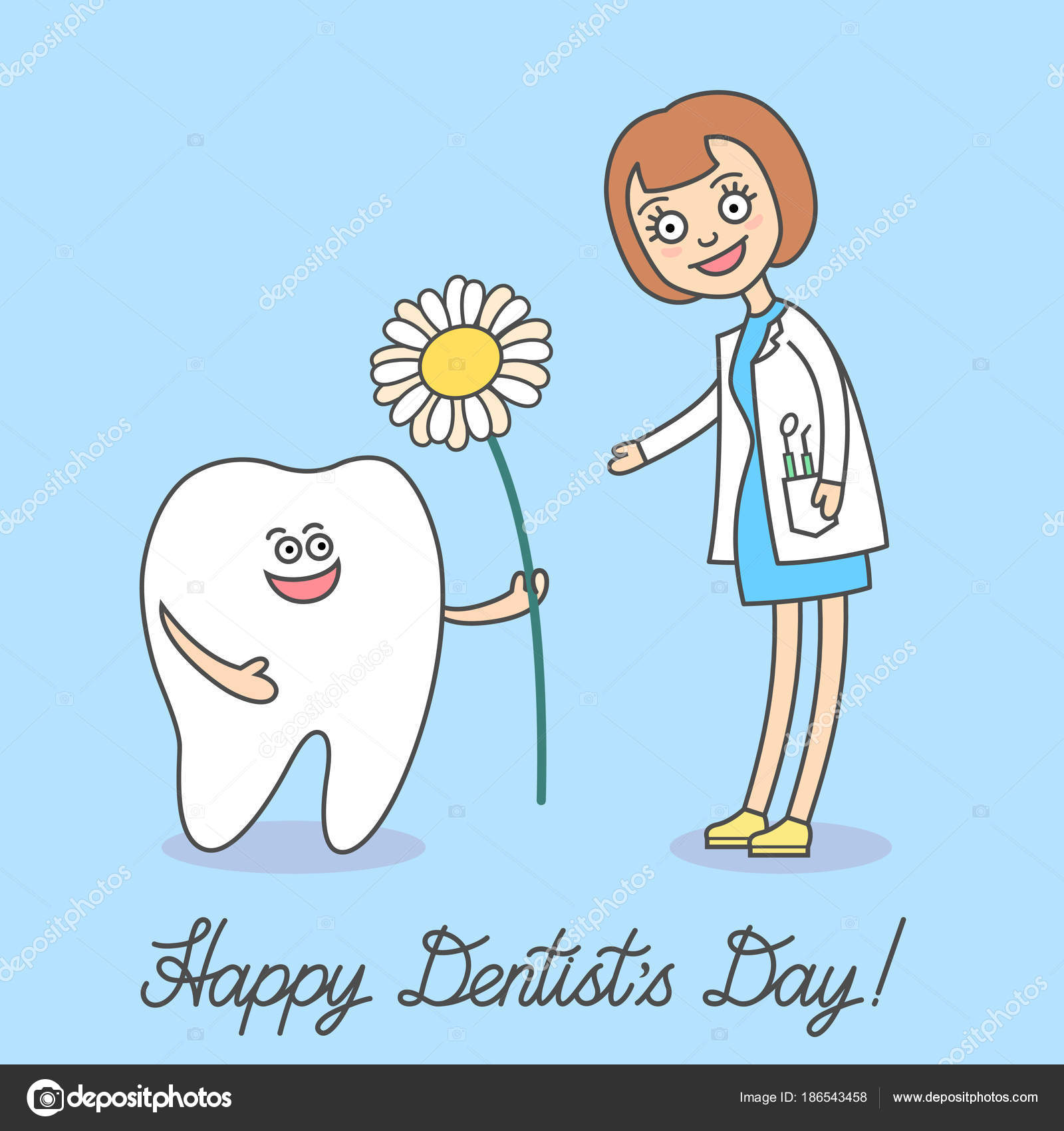 Dentistry quotes funny | Happy Dentist Day March Cartoon ...