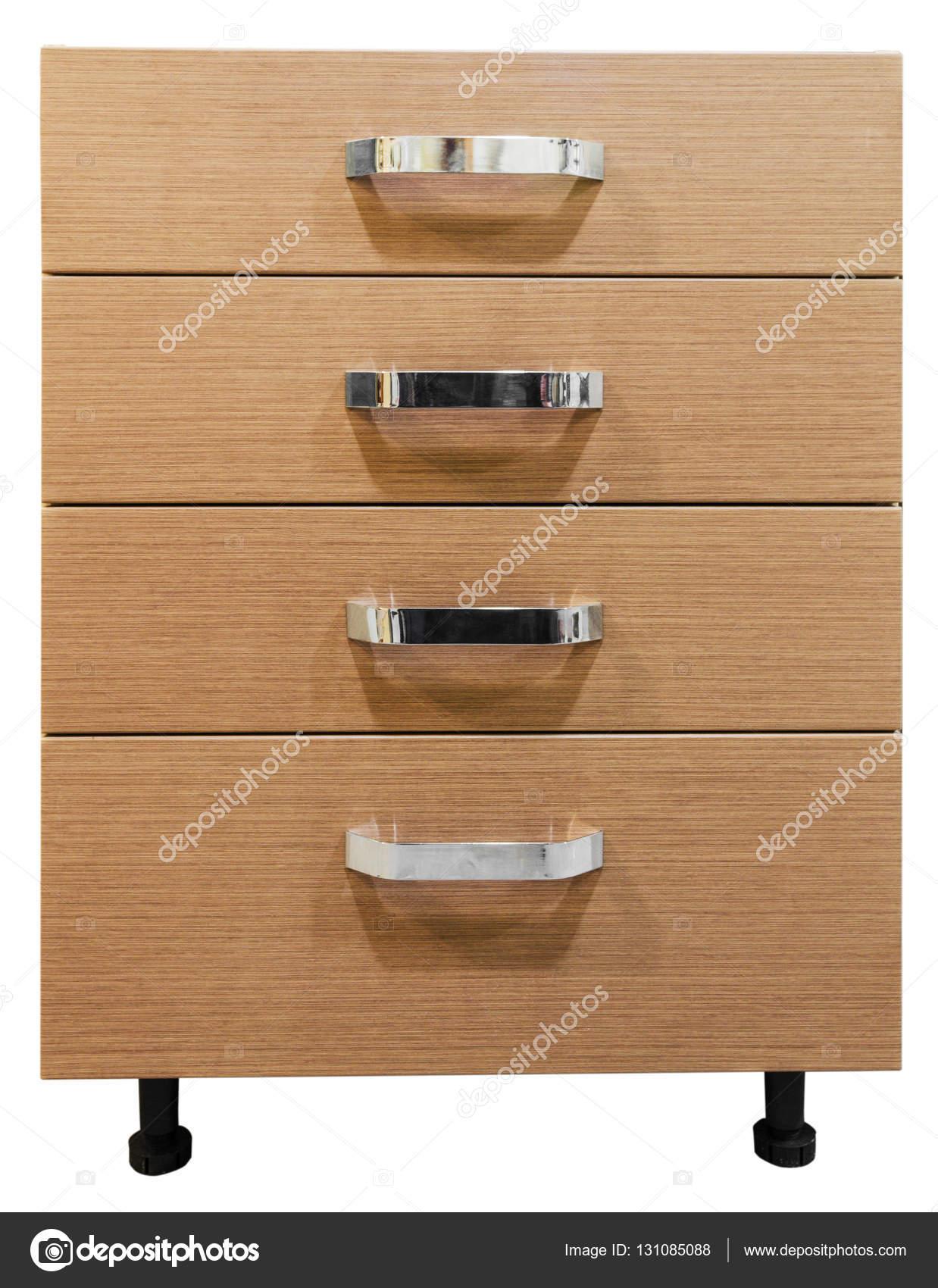 Muebles De Gabinete Sobre Un Fondo Blanco Foto De Stock