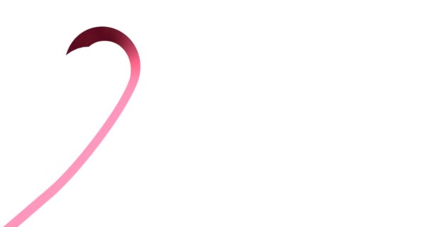 Breast cancer ribbon. International symbol of National Breast Cancer Awareness Month.