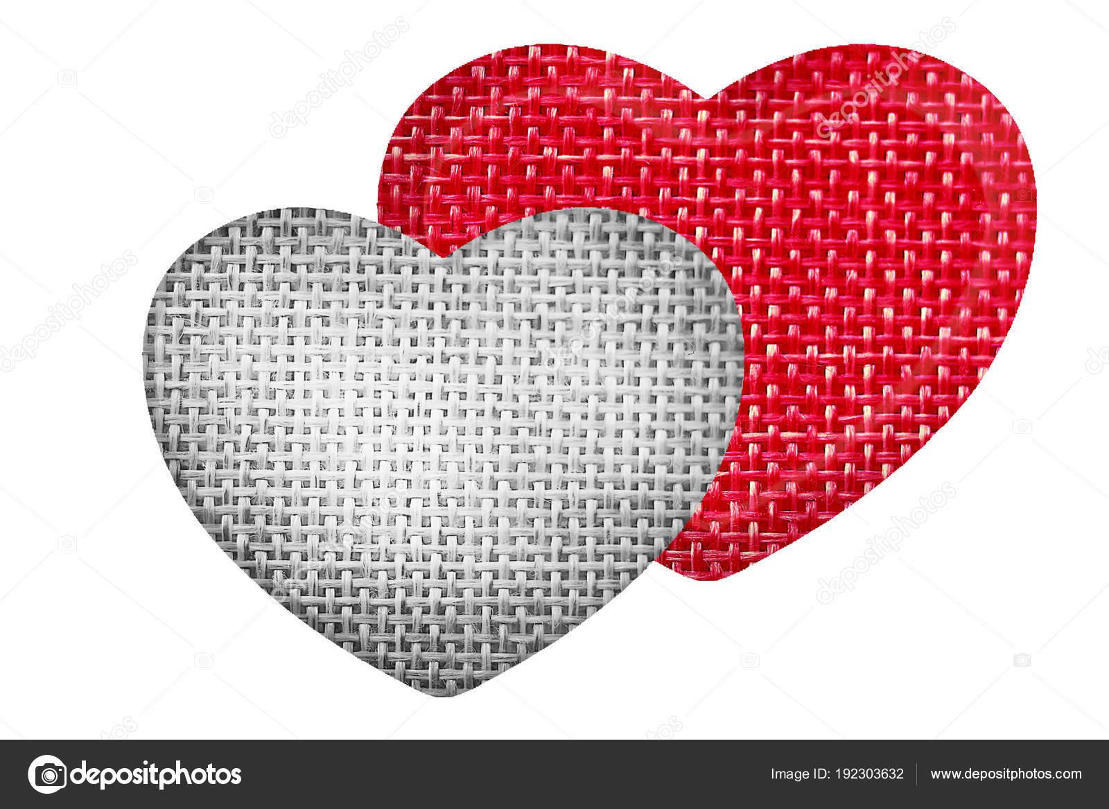 Symbol Love Unity Isolate White Background Romantic