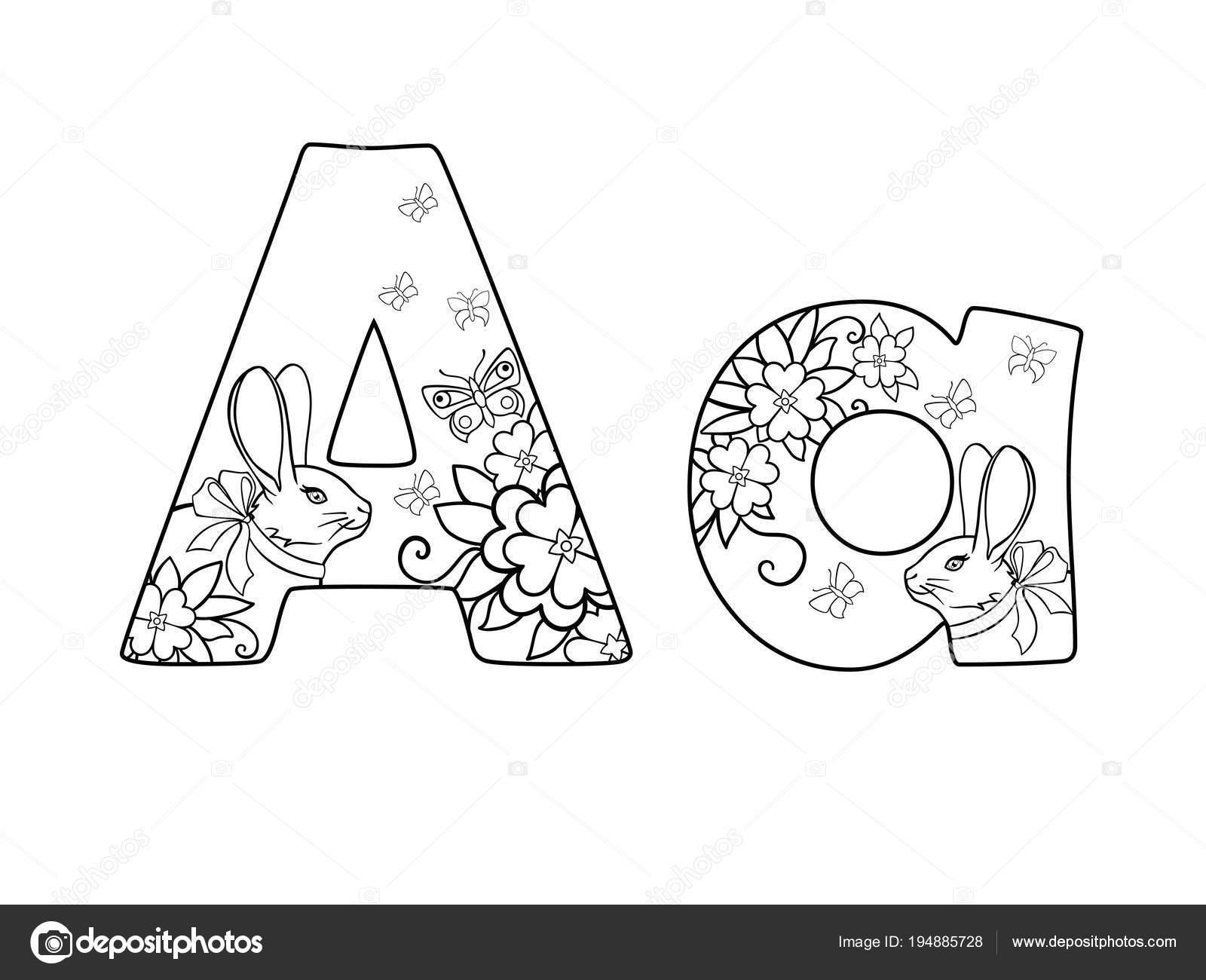 Dibujos Alfabeto Letra De Carta Carta Alfabeto Letra Está