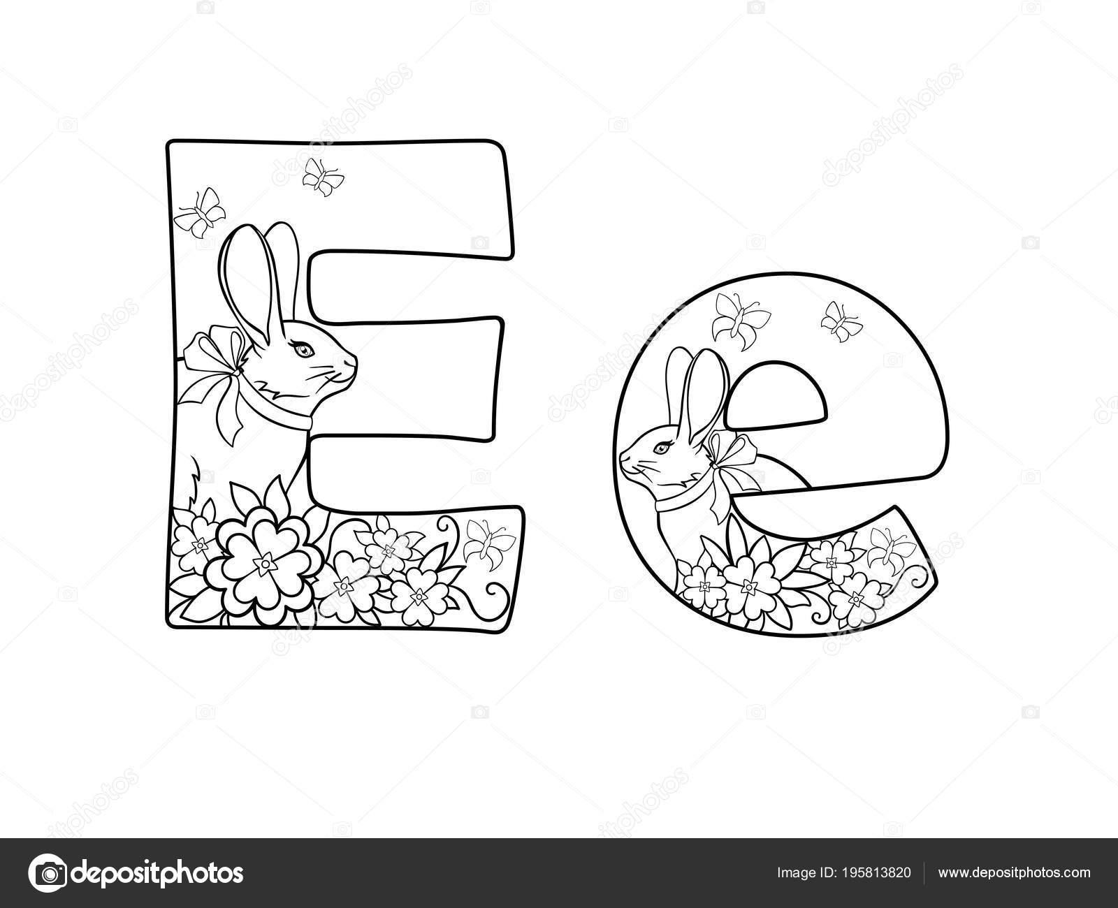 Dibujos Letras Decoradas Con Flores Carta Alfabeto Letra