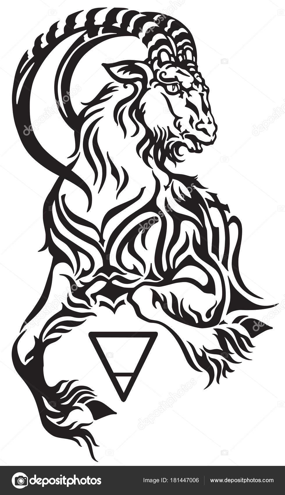 Fotos Tatuajes Zodiaco Signo Del Zodiaco Capricornio Criatura
