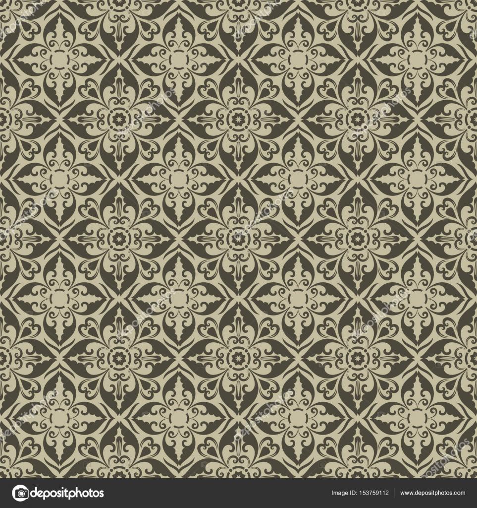depositphotos 153759112 stock illustration vintage beige wallpaper diamond shaped - Tapete Rautenmuster
