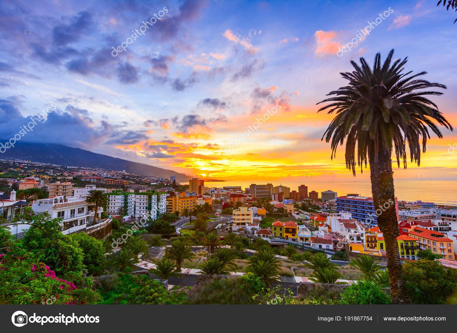 Klimatabell Tenerife
