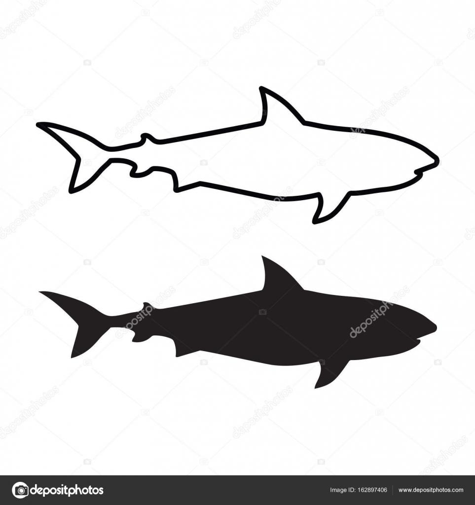 Schwarzer hai