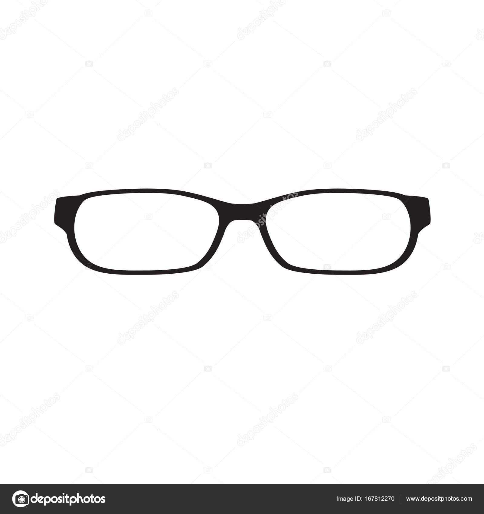 目メガネのアイコン ベクトル イラスト ストックベクター Chrupka
