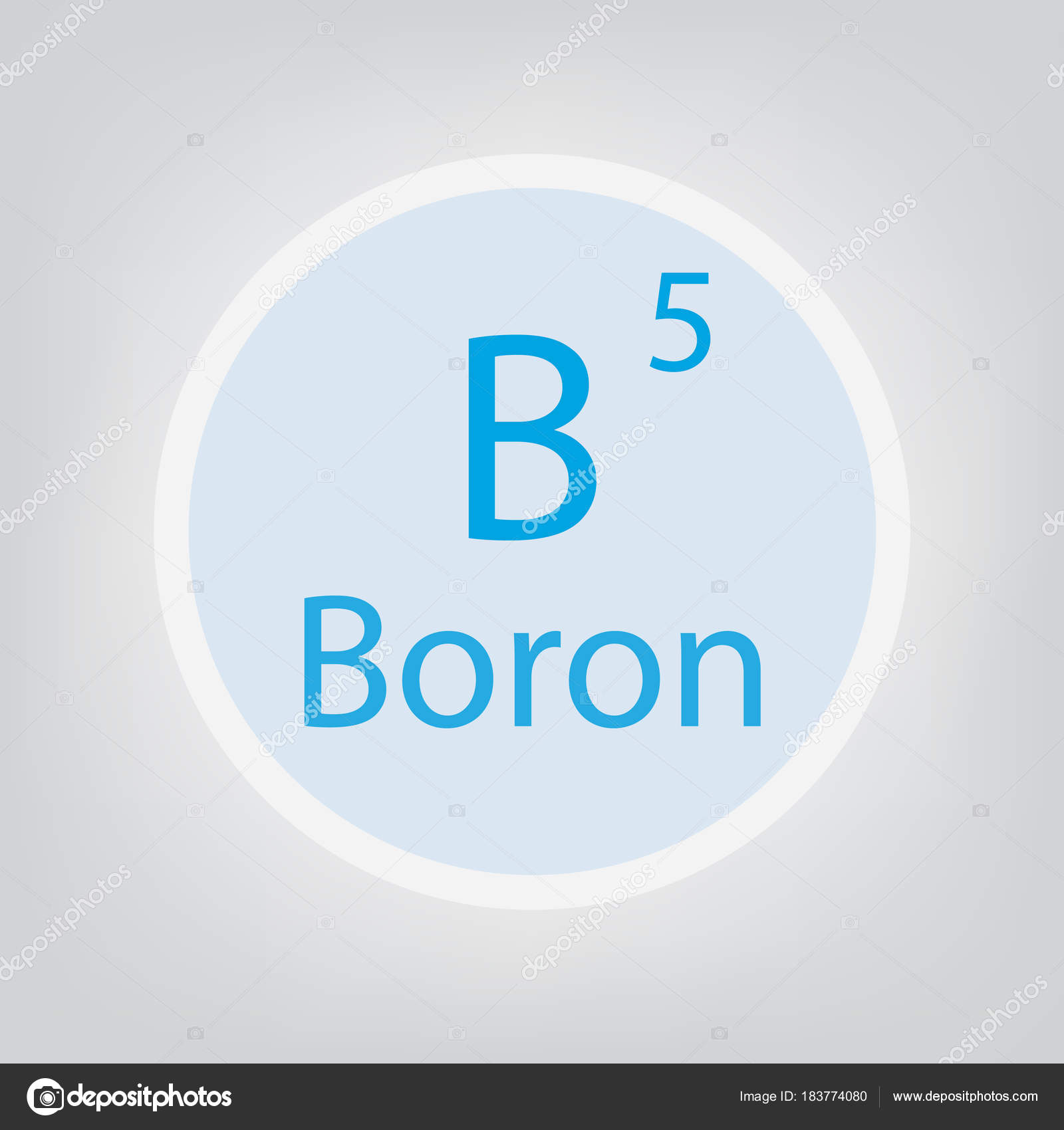 Boron b chemical element icon vector illustration stock vector boron b chemical element icon vector illustration stock vector buycottarizona