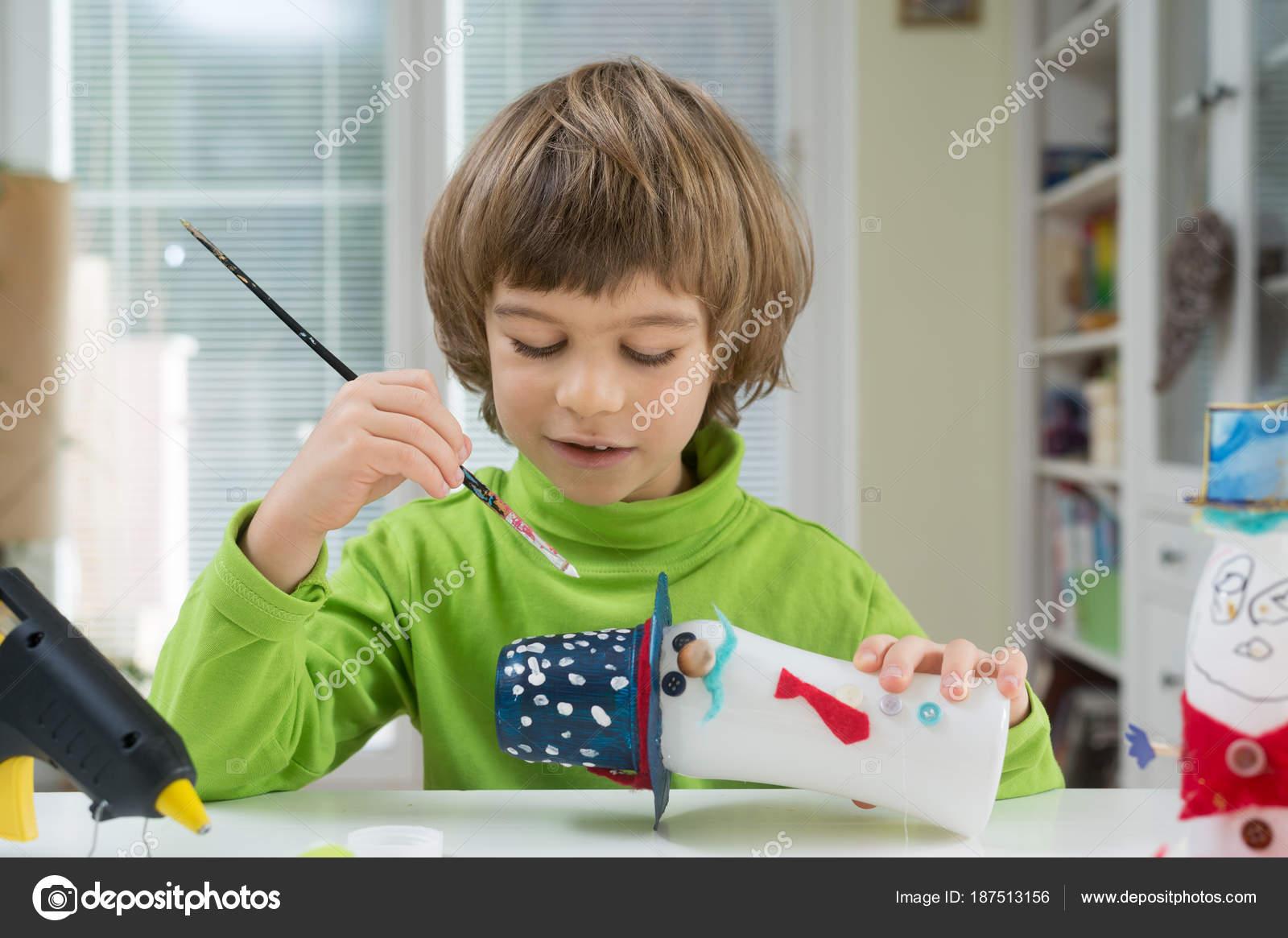 Ser Haciendo Niño Caseros Bricolaje Juguetes Botella Yogurt Creativo drhQst