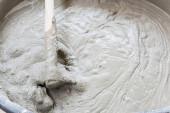 Zementmischbeton ist verdichteter Sand