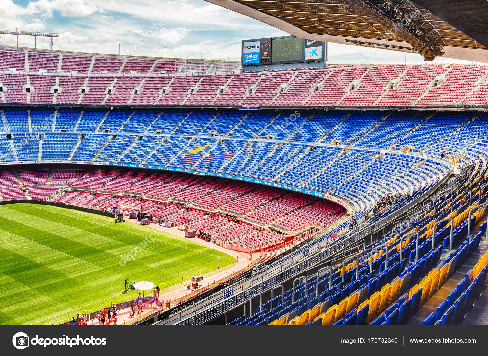 inside camp nou home stadium of fc barcelona catalonia spain stock editorial photo c marcorubino 170732340 inside camp nou home stadium of fc barcelona catalonia spain stock editorial photo c marcorubino 170732340