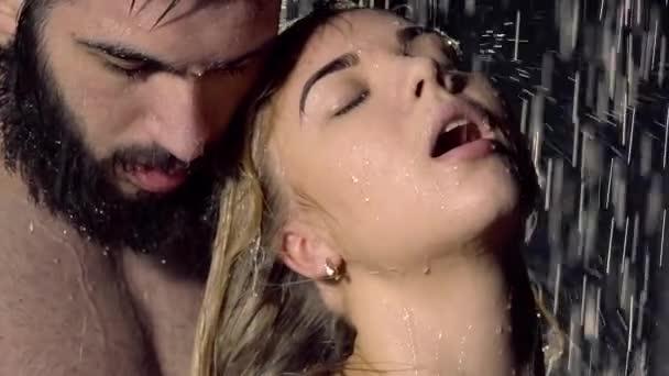 Seks in de douche video