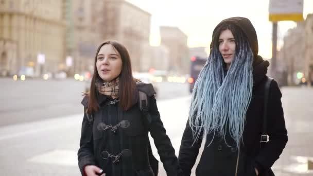 Lesbians on the street