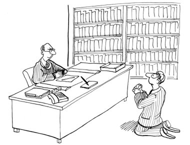 Lawyer Begging Judge