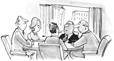 Five in Meeting