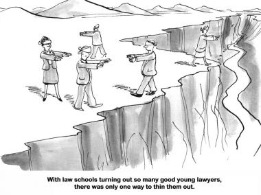 Too Many Young Lawyers