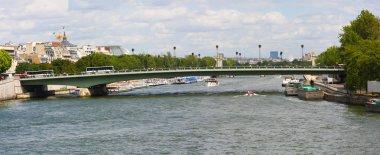 Pont de l'Alma across Seine River, Paris, France