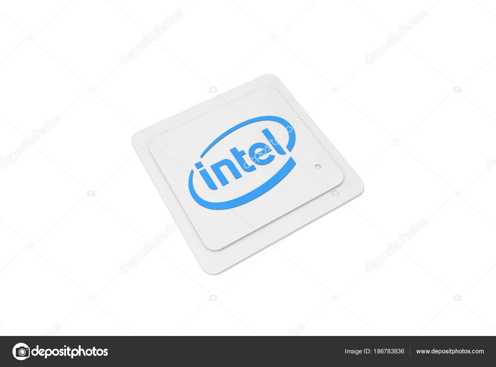 Intel Cpu Central Processing Unit Stock Editorial Photo