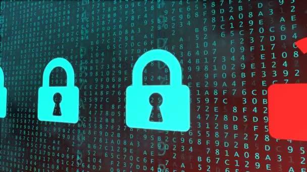 Bezpečnostní koncepce s digitální zámky jsou popraskané. Dekódovací proces hesla. Bezešvá smyčka
