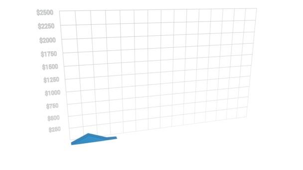 Bitcoin ár diagram készült érme halom a grafikon. Cryptocurrencies ár változás dynamics koncepció.