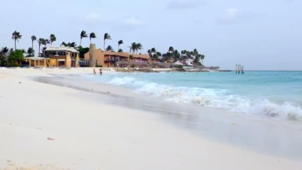 Manchebo beach sullisola di Aruba nel Mar dei Caraibi