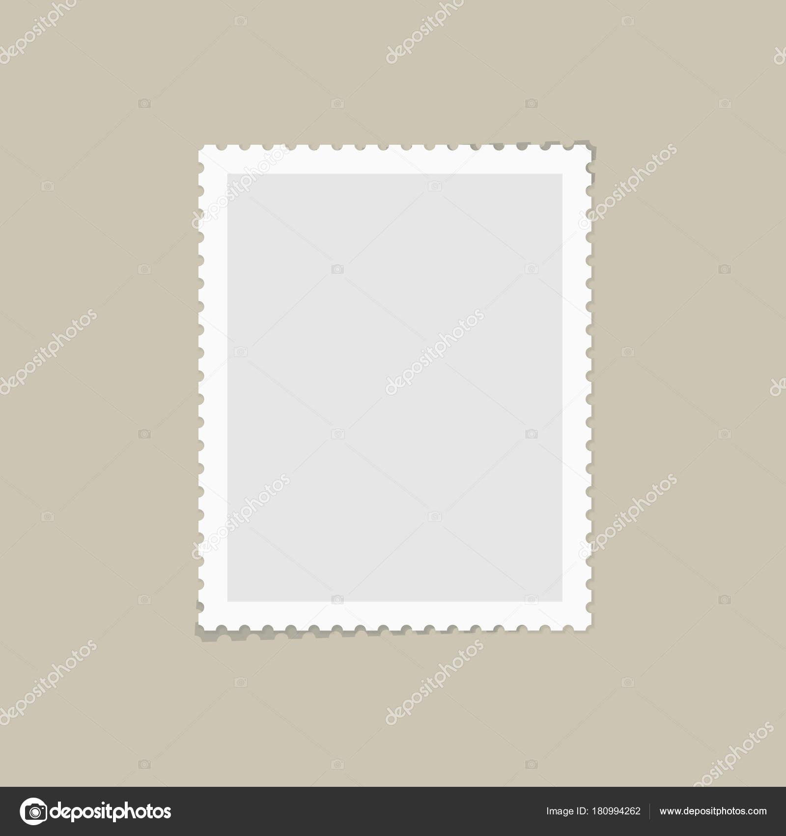 postage stamp for postcard stock vector ikonstudios 180994262