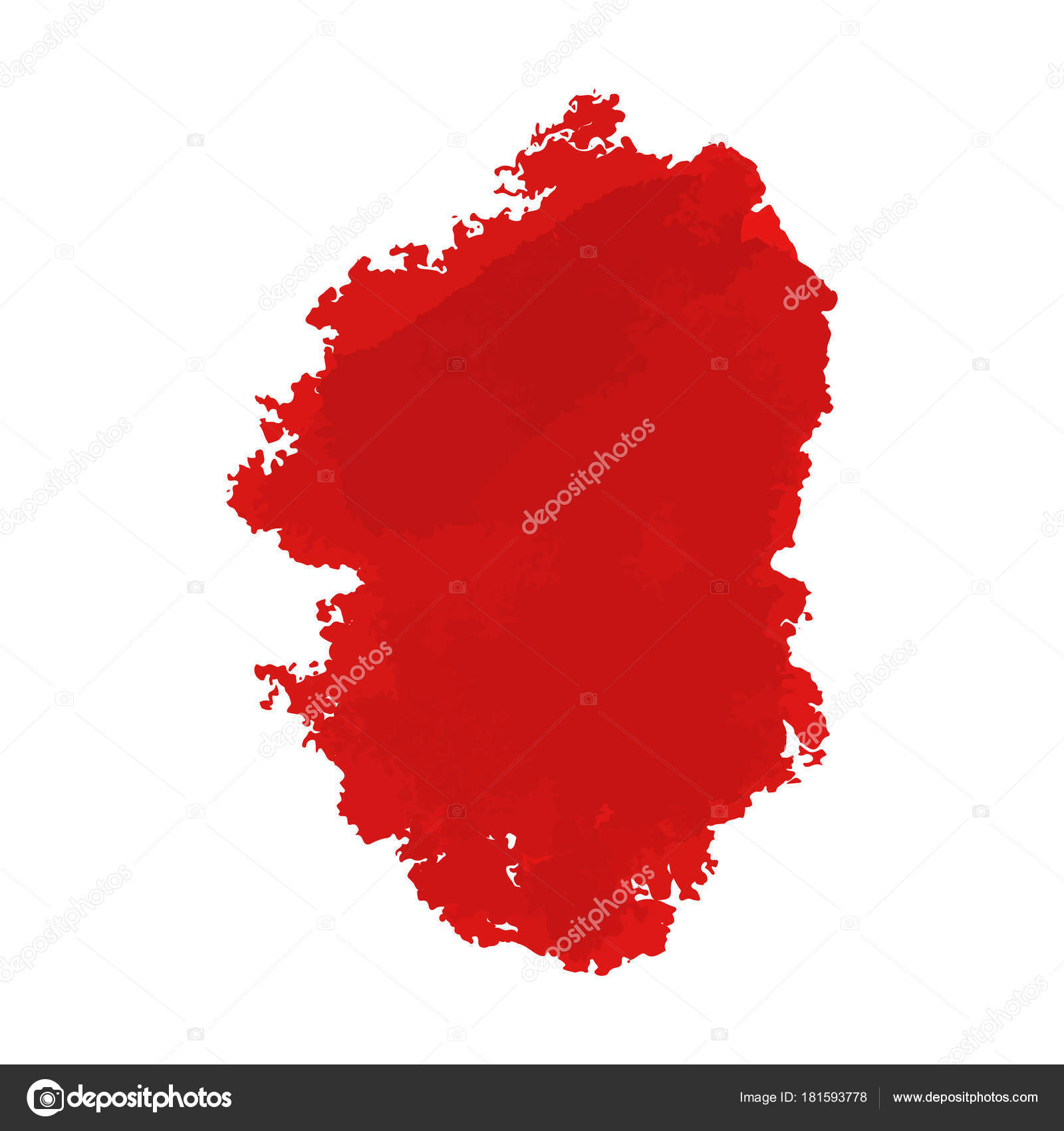 手描き塗装血縦長バナーとグランジ ハロウィン背景の傷ベクトル