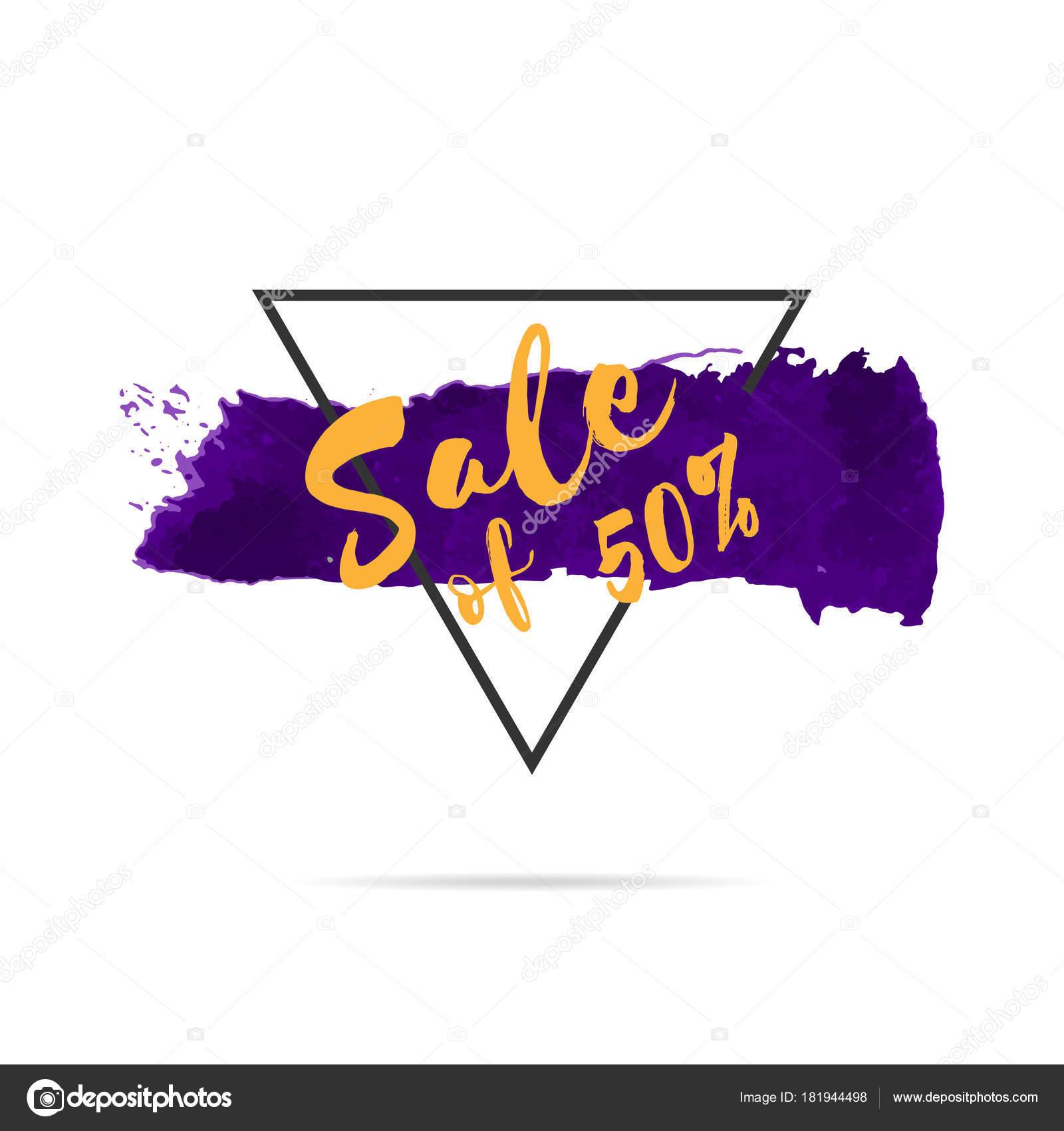 diseño de plantilla de banner venta de dibujado a mano promoción ...