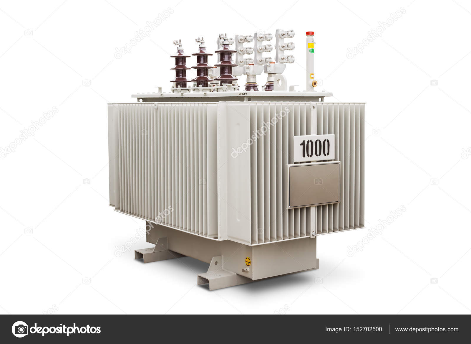 Oil immersed transformer — Stock Photo © teptong #152702500