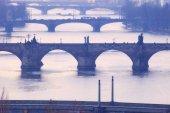 Česká republika, Praha - mosty přes Vltavu.