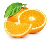zralé oranžové izolované