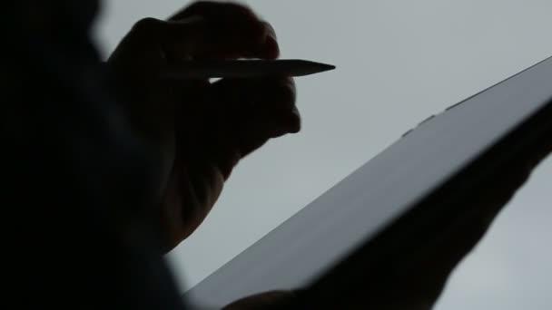 Návrh čerpání na digitální tablet perem Stylus