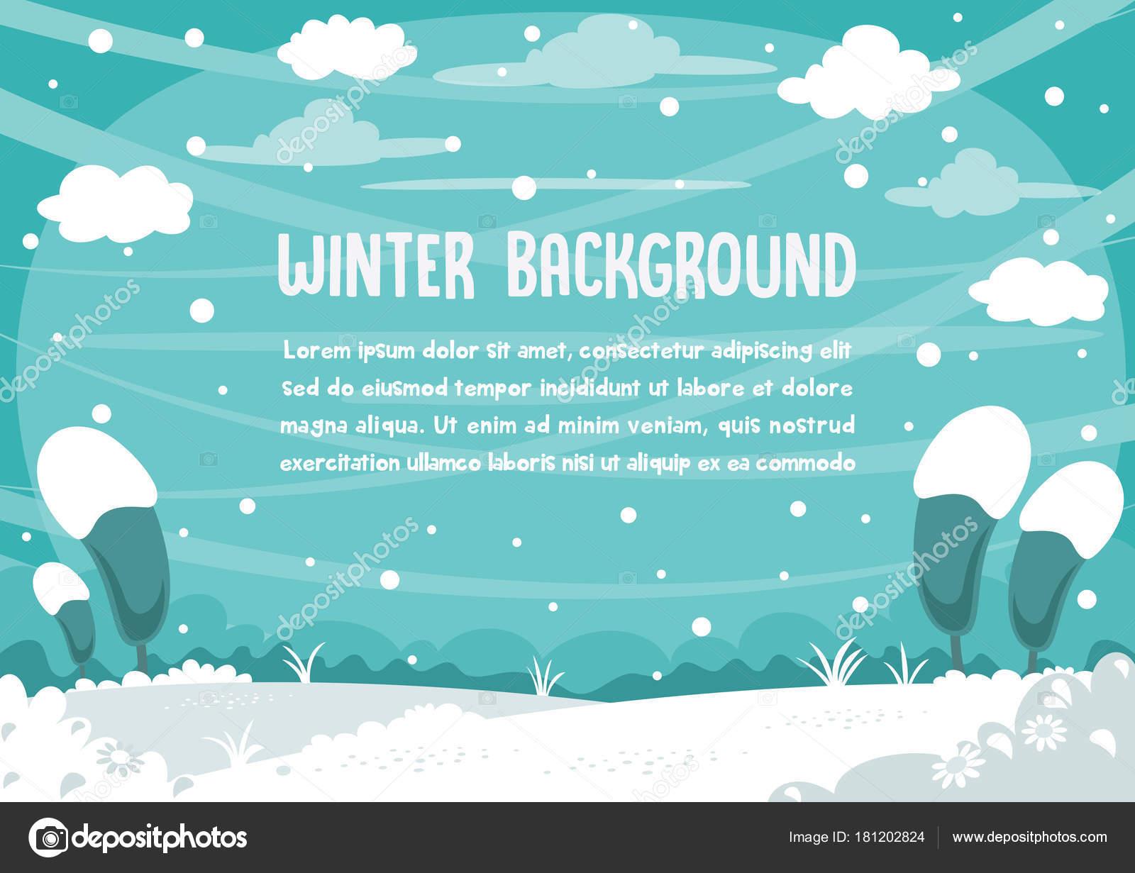 Diseño Fondo Muñeco Nieve Invierno — Vector de stock © yusufdemirci ...
