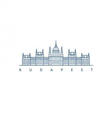 Budapest. Architecture. Vector illustration.