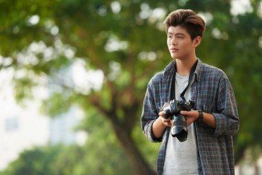 Young Vietnamese photographer