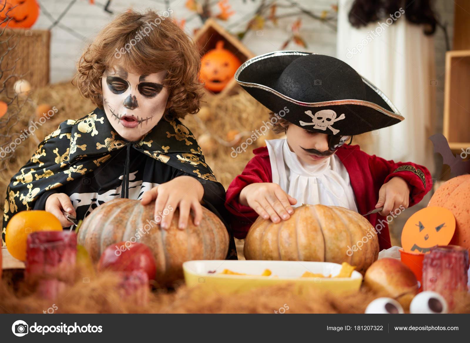 Nios Hacer Decoraciones Para Fiesta Disfraces Halloween Fotos de